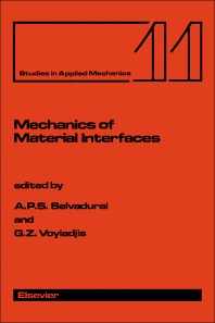 Mechanics of Material Interfaces - 1st Edition - ISBN: 9780444426253, 9781483289946