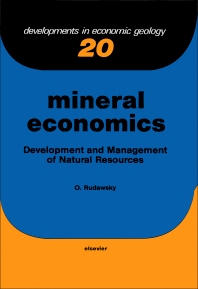 Cover image for Mineral Economics
