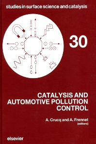Catalysis and Automotive Pollution Control - 1st Edition - ISBN: 9780444427786, 9780080960647