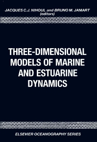 Cover image for Three-Dimensional Models of Marine and Estuarine Dynamics