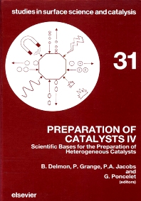 Preparation of Catalysts IV - 1st Edition - ISBN: 9780444427960, 9780080960654