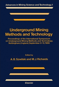 Cover image for Underground Mining Methods and Technology