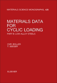 Materials Data for Cyclic Loading - 1st Edition - ISBN: 9780444428714, 9781483193182