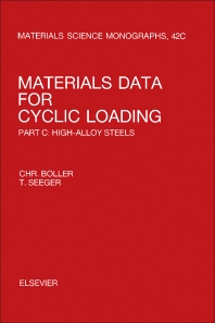 Materials Data for Cyclic Loading - 1st Edition - ISBN: 9780444428721, 9781483193199