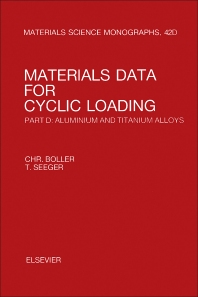 Materials Data for Cyclic Loading - 1st Edition - ISBN: 9780444428738, 9781483193205