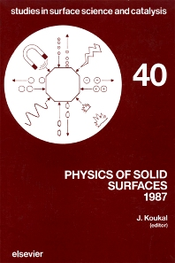 Physics of Solid Surfaces 1987 - 1st Edition - ISBN: 9780444429728, 9780080960746
