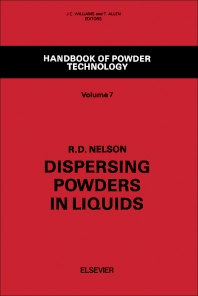 Dispersing Powders in Liquids - 1st Edition - ISBN: 9780444430045, 9780444596512