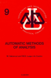 Automatic Methods of Analysis - 1st Edition - ISBN: 9780444430052, 9780080875576