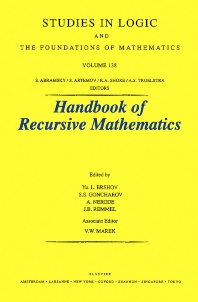 Recursive Model Theory - 1st Edition - ISBN: 9780444500038, 9780080533698