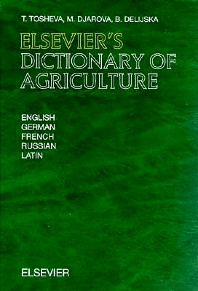 Elsevier's Dictionary of Agriculture - 1st Edition - ISBN: 9780444500052, 9780080929095