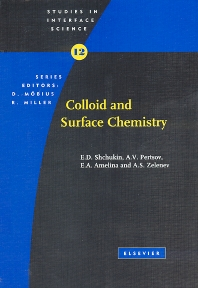 Cover image for Colloid and Surface Chemistry