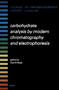 Cover image for Carbohydrate Analysis by Modern Chromatography and Electrophoresis