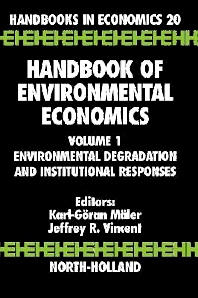 Cover image for Handbook of Environmental Economics