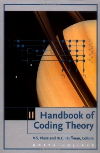 Handbook of Coding Theory, 1st Edition,UNKNOWN AUTHOR,ISBN9780444500878