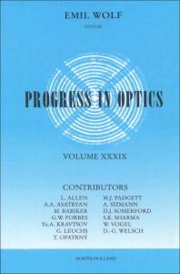 Progress in Optics - 1st Edition - ISBN: 9780444501042, 9780080879802