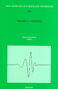 Cover image for Wavelets in Chemistry