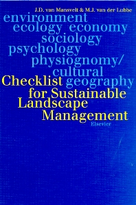 Checklist for Sustainable Landscape Management - 1st Edition - ISBN: 9780444501592, 9780080528984