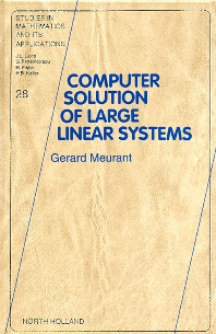 Cover image for Computer Solution of Large Linear Systems