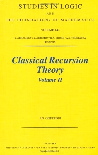 Classical Recursion Theory, Volume II, 1st Edition,P. Odifreddi,ISBN9780444502056