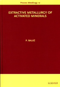 Cover image for Extractive Metallurgy of Activated Minerals
