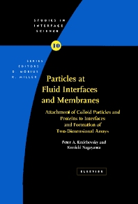 Cover image for Particles at Fluid Interfaces and Membranes