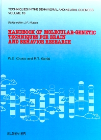 Cover image for Handbook of Molecular-Genetic Techniques for Brain and Behavior Research