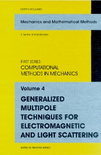 Cover image for Generalized Multipole Techniques for Electromagnetic and Light Scattering