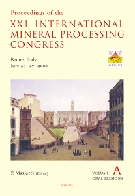 Cover image for Proceedings of the XXI International Mineral Processing Congress, July 23-27, 2000, Rome, Italy
