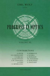 Progress in Optics - 1st Edition - ISBN: 9780444503053, 9780080962917