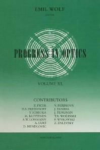 Cover image for Progress in Optics
