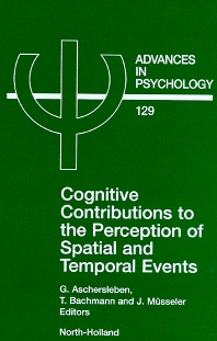 Cover image for Cognitive Contributions to the Perception of Spatial and Temporal Events