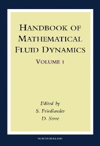 Cover image for Handbook of Mathematical Fluid Dynamics