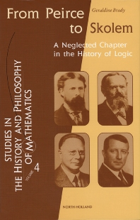 Cover image for From Peirce to Skolem