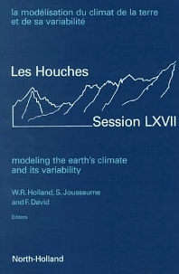 Cover image for Modeling the Earth's Climate and its Variability