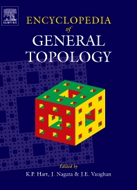 Cover image for Encyclopedia of General Topology