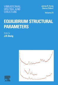 Equilibrium Structural Parameters, 1st Edition,J R Durig,ISBN9780444504043
