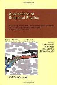 Cover image for Applications of Statistical Physics