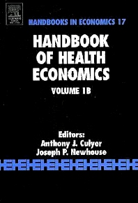 Cover image for Handbook of Health Economics