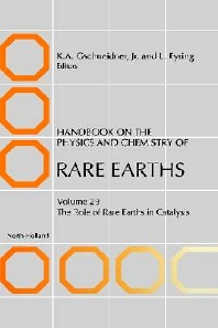 Handbook on the Physics and Chemistry of Rare Earths, 1st Edition,K.A. Gschneidner,L. Eyring,S. Bernal Máquez,ISBN9780444504722