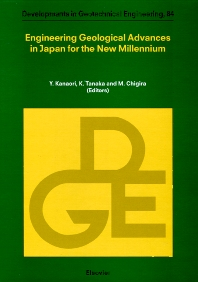 Cover image for Engineering Geological Advances in Japan for the New Millennium