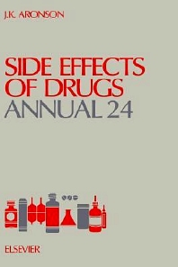 Side Effects of Drugs Annual, 1st Edition,Jeffrey K. Aronson,ISBN9780444505125