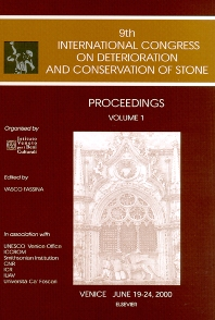 Cover image for Proceedings of the 9th International Congress on Deterioration and Conservation of Stone