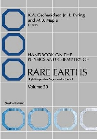 Handbook on the Physics and Chemistry of Rare Earths - 1st Edition - ISBN: 9780444505286, 9780080544373