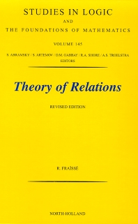 Theory of Relations, 1st Edition,R. Fraisse,ISBN9780444505422