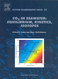 Cover image for CO2 in Seawater: Equilibrium, Kinetics, Isotopes