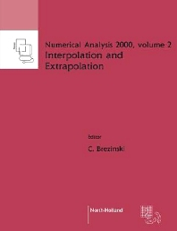 Interpolation and Extrapolation - 1st Edition - ISBN: 9780444505972, 9780080929538