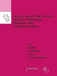 Cover image for Ordinary Differential Equations and Integral Equations