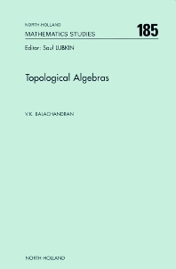 Cover image for Topological Algebras