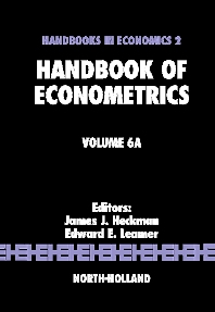 Cover image for Handbook of Econometrics