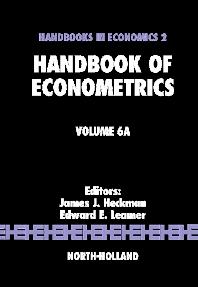 Cover image for Handbook of Econometrics
